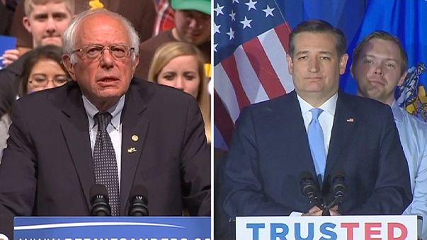 Wisconsin da alas a Cruz y Sanders