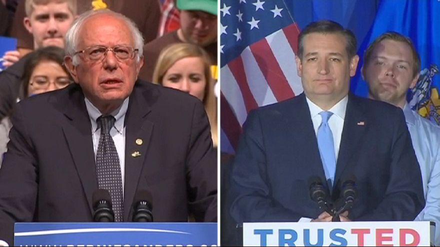 پیروزی سندرز و کروز در ایالت ویسکانسین آمریکا