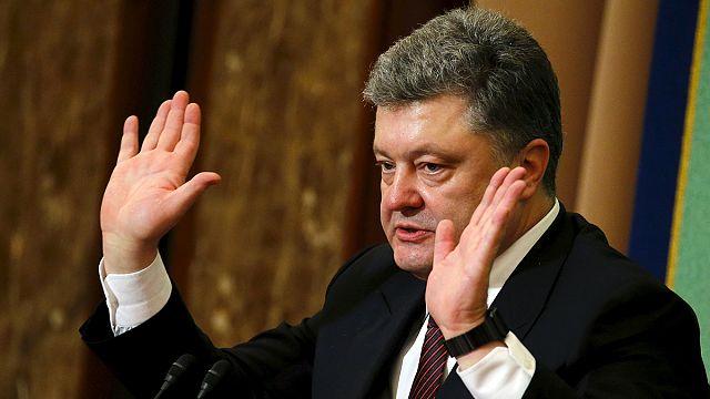 """Poroşenko'dan 'Panama' savunması: """"Yaptığım her şey yasal"""""""