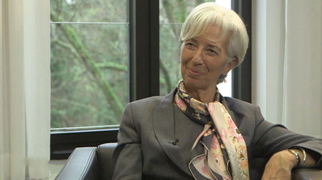 """Una nuova crisi finanziaria? Christine Lagarde (Fmi): """"Non c'è allarme, ma stiamo all'erta"""""""