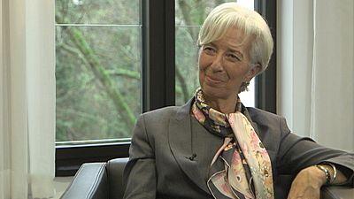 """""""No hay motivo de alarma, pero estamos en alerta"""", Christine Lagarde"""