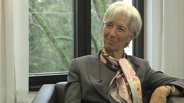 Η Λαγκάρντ στο euronews: τι λέει για την Ελλάδα