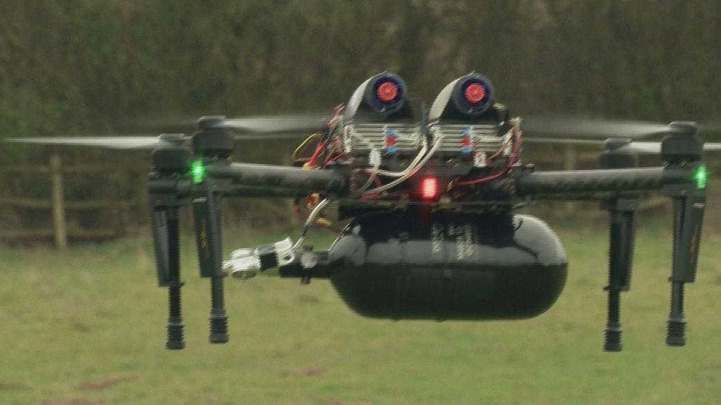 Des drones à pile à combustible