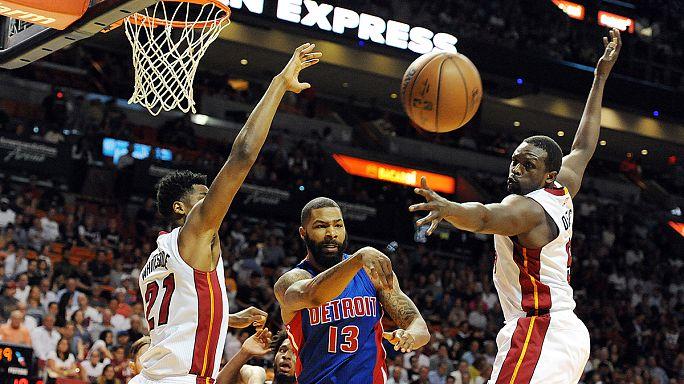 """В НБА """"Майами"""" обыграл """"Детройт"""""""
