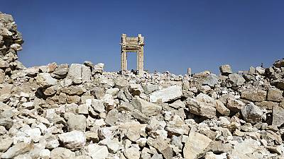 Inside the city of Palmyra and what is left after the defeat of ISIL there