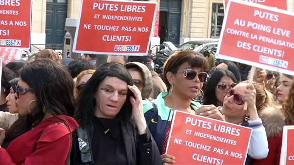 France passes divisive law criminalising customers rather than sex workers