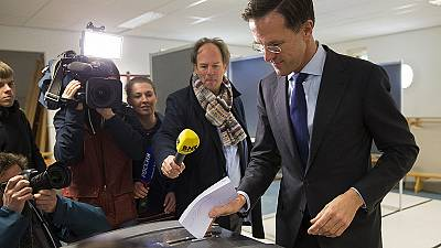 Dutch voters deal a blow to government in EU treaty referendum