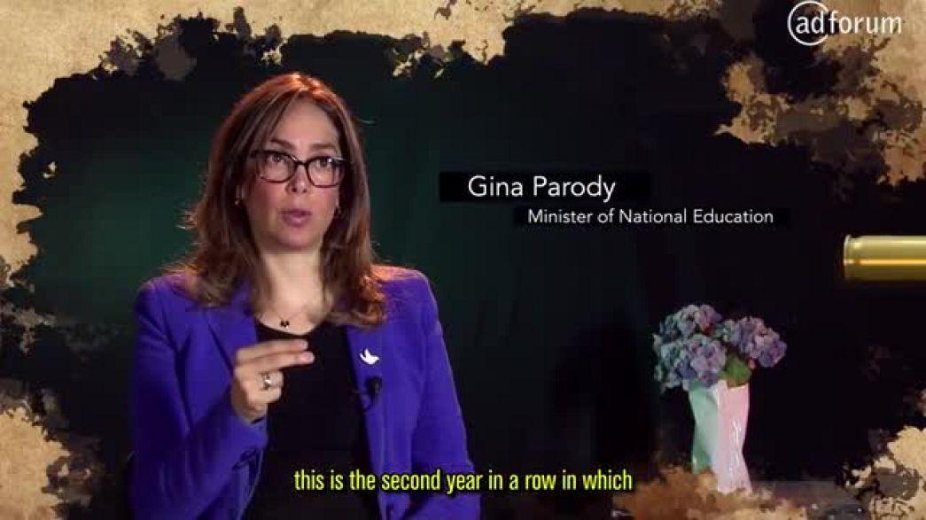 The bullet's pen (Ministerio de Educación Nacional Colombia)
