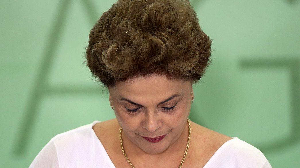 Rousseff'in üzerindeki baskı artıyor