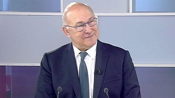مقابلة مع وزير المالية الفرنسي ميشيل سابان