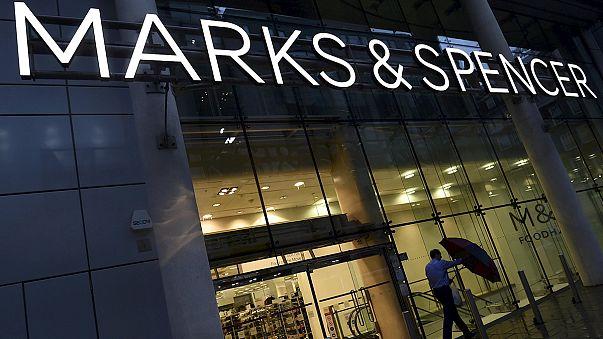 Продажи Marks & Spencer падают