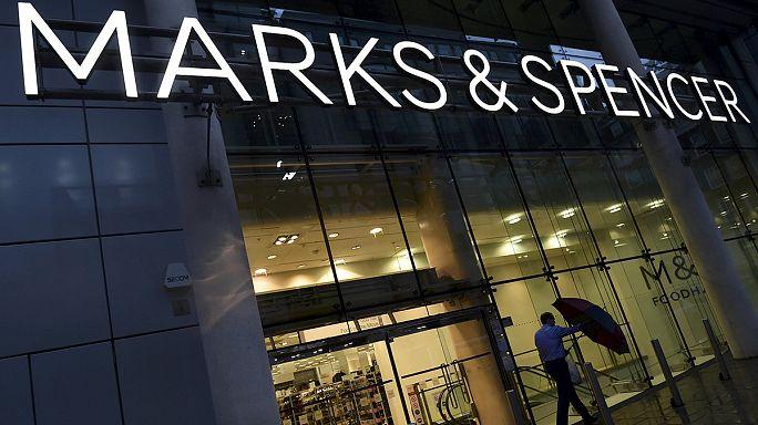 Marks & Spencer mağaza satışları geriliyor
