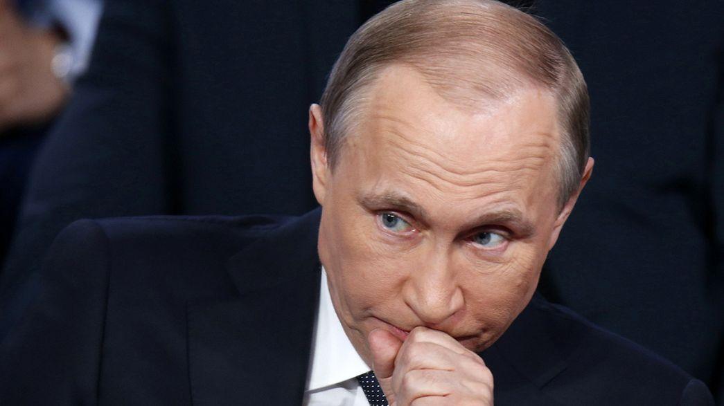 """Putin acusa a EEUU de haber """"cocinado"""" los """"Papeles de Panamá"""""""