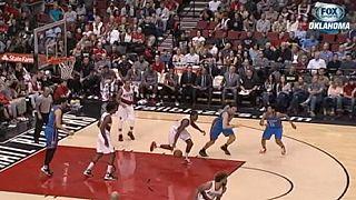 Ripcity dances as Portland blaze a trail into the NBA playoffs