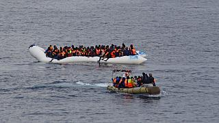 Over 300 migrants rescued off the Strait of Sicily