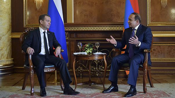 Russland vermittelt im Karabach-Konflikt