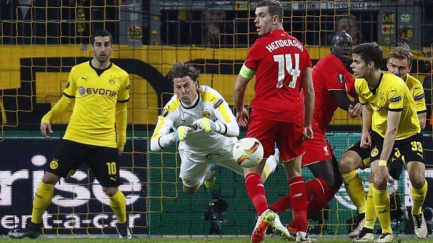 Europa League: impatta il Liverpool, vincono Shakhtar, Siviglia e Villareal