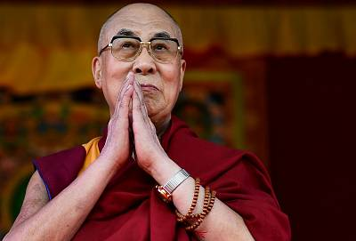 The Dalai Lama in 2015.