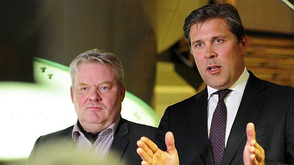 İzlanda'da geçici Başbakan Johansson