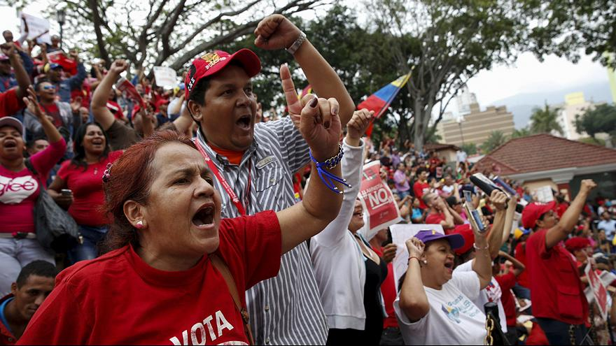 Tensions escalate in Venezuela as Maduro vows to block law passed by opposition