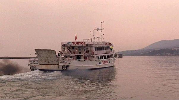 Un deuxième convoi de migrants renvoyés de Grèce vers la Turquie