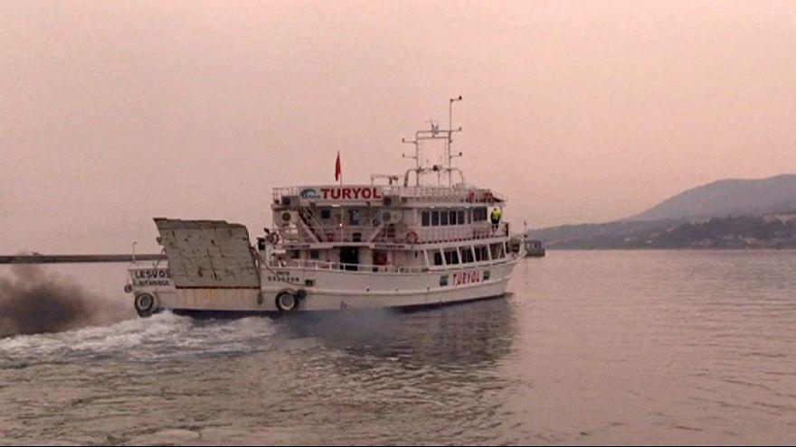 Греция депортирует нелегалов обратно в Турцию