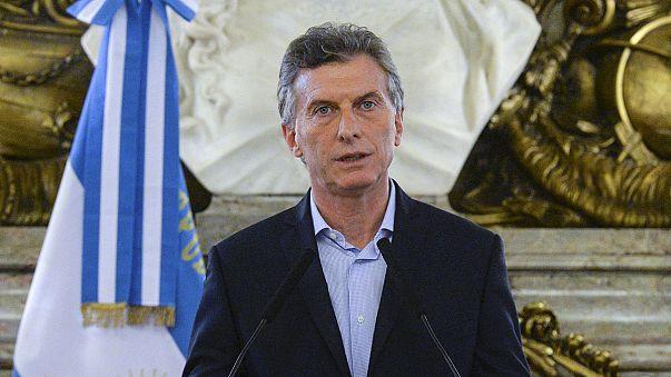 """Proteste gegen Argentiniens Präsidenten Macri: """"Ich bin sehr entspannt"""""""