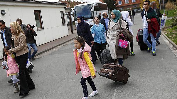 Diminuiu o fluxo de refugiados em direção à Alemanha