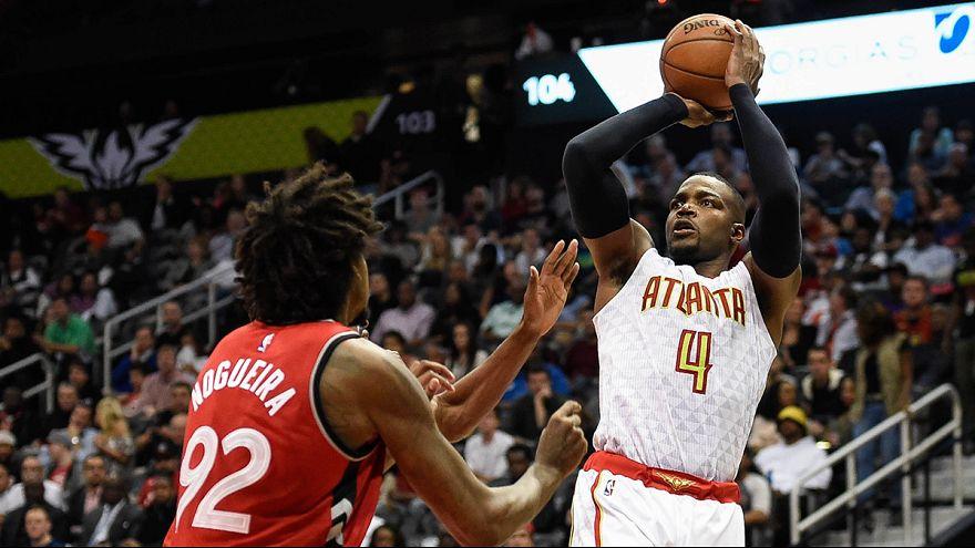 Los Hawks vencen a los Raptors y se mantienen terceros de la Conferencia Este
