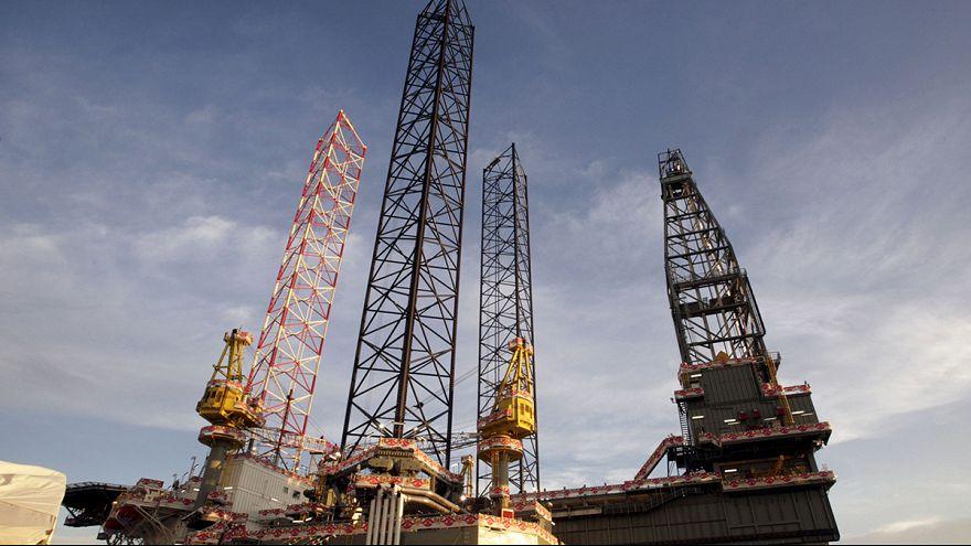 Brent crude oil surges five percent