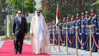 Saudi's King Salman begins 5-day visit to Egypt