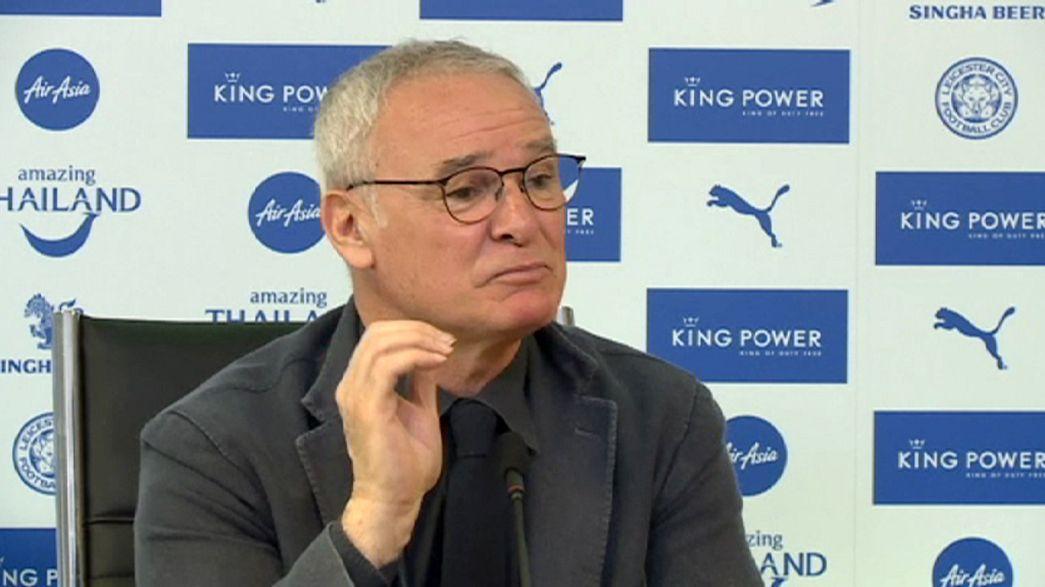 """Leicester, Ranieri è cauto: """"Obiettivo Champions, per il titolo è ancora presto"""""""