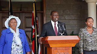 CPI : William Ruto justifie l'abandon des charges contre lui par son innocence