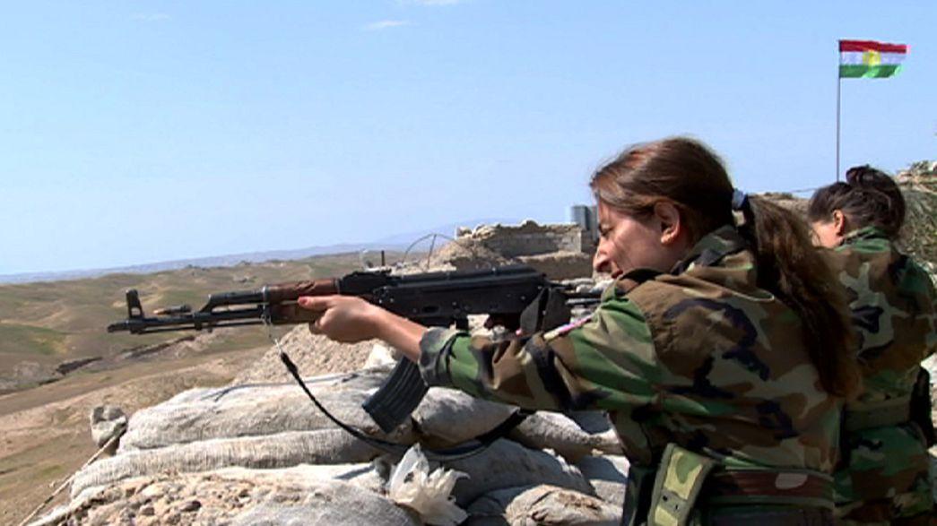 Curdistão: Mulheres na linha da frente contra o Estado Islâmico