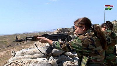 An vorderster Front: Kurdische Kämpferinnen