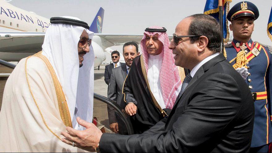"""مشروع إنشاء جسر يربط """"جمهورية مصر العربية"""" ب""""المملكة العربية السعودية"""""""