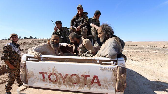 Újabb városok szabadultak fel Szíriában