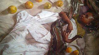 Nigerian hyper-realist artist takes the art world by storm