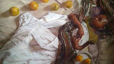 Nigeria : Olumide Oresegun, un peintre hyperréaliste passionné