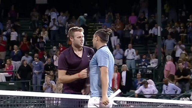 Houston turnuvasında Isner ve Sock yarı finalde
