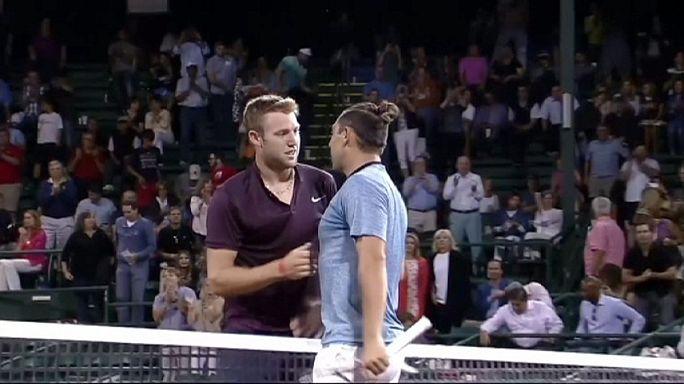 Джон Иснер и Джек Сок сыграют друг с другом в полуфинале турнира в Хьюстоне