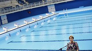 Brazil: Embattled Rousseff inaugurates Rio 2016 aquatic stadium
