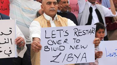 Libya: Locals rally behind UN-backed unity govt