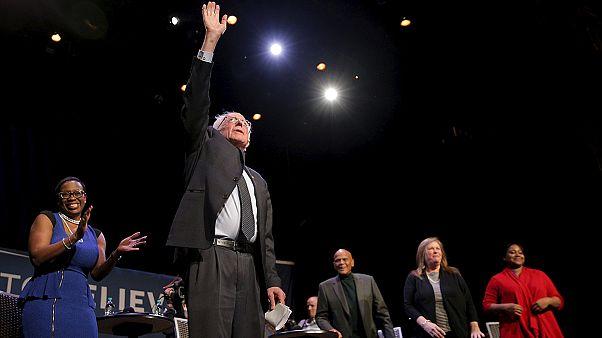 ساندرز يفوز على كلينتون في وايومينغ والمرحلة المفبلة نيويورك