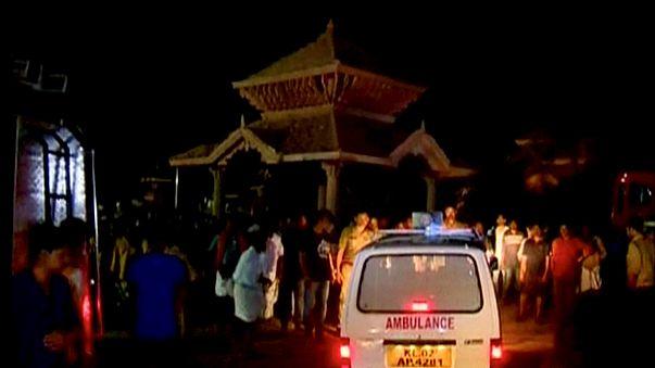 India, tragedia in un tempio del Kerala: oltre 100 morti per i fuochi d'artificio