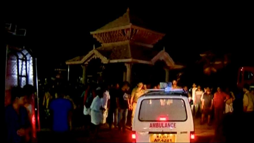 India temple fire kills more than 100 worshipers at Hindu New Year event