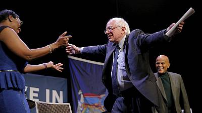 Sanders wins Wyoming amidst delegates split