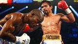 Boxe: Pacquiao diz adeus com uma vitória