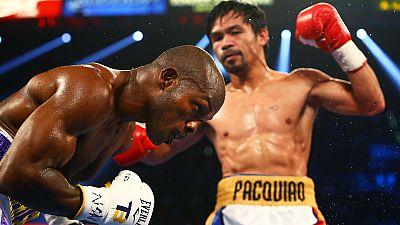 Boxen - Pacquiao begeistert beim Abschied gegen Bradley
