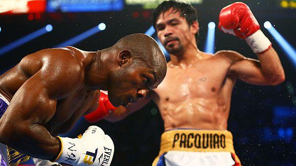 ملاكمة: ماني باكياو يثأر من تيموثي برادلي في آخر منازلة في مشواره